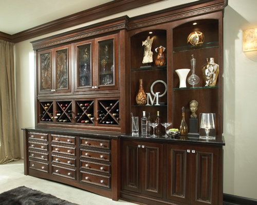 Super smart and undeniably well built. Use customizable cabinetry to design your built-in furniture to fit perfectly.