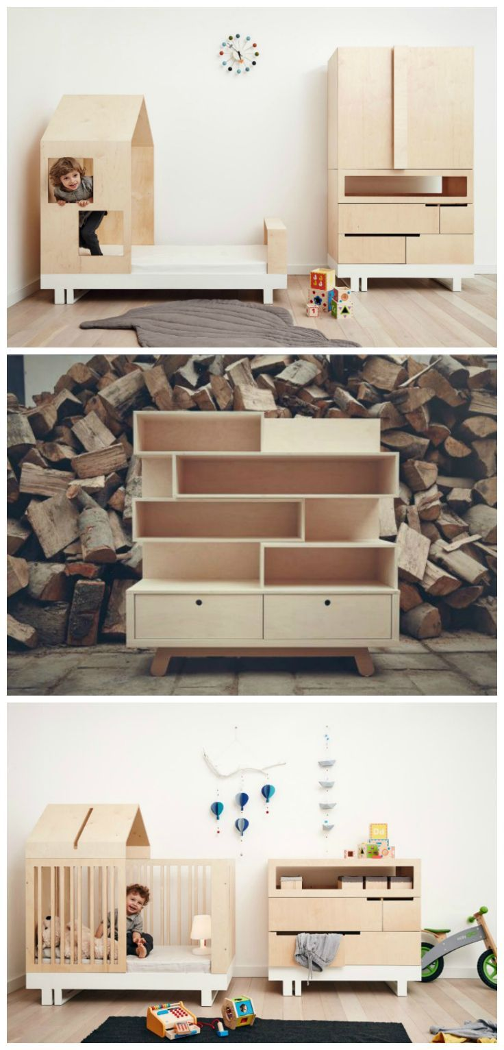 Creative furniture for kids: