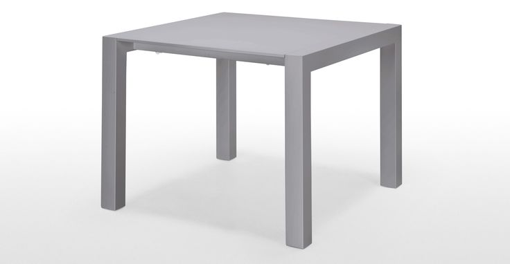 The Bramante square extending dining table brings an ultra sleek, minimalist look to any dining room.
