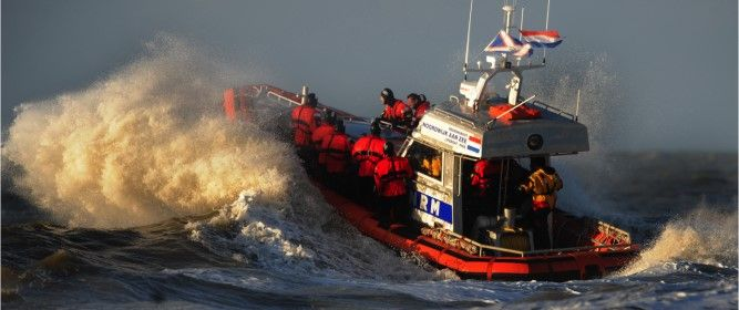 Engage with the Dutch coast guard in a rescue operation: North Sea Rescue!