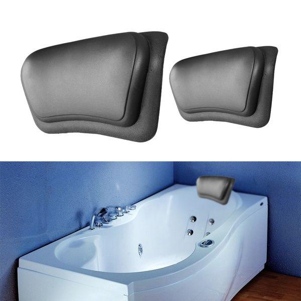 Spa Bath Bathtub Pillow Bathroom Neck Support Back Comfort Jacuzzi Hot Tub Gift