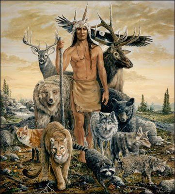 Universo Xamânico: Animais de poder - o Lobo e o urso