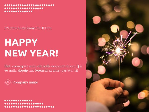 Create Your Own Happy New Year E Card With Xara Cloud Ecard Happynewyear Newyear 2019 Template Templates Presentation Templates Happy New Year