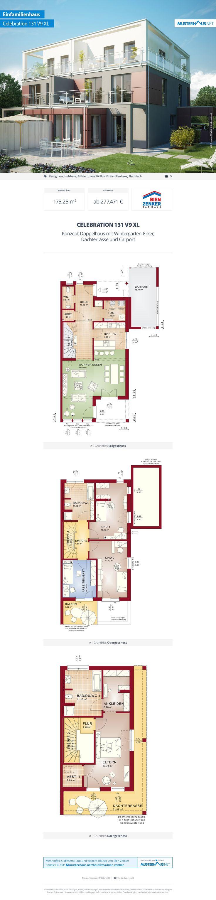 27 besten musterhaus bilder auf pinterest einfamilienhaus katalog und klinker. Black Bedroom Furniture Sets. Home Design Ideas