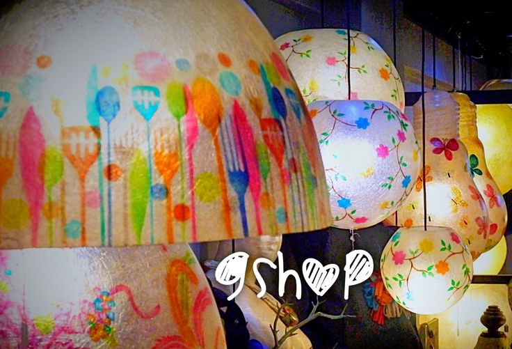 Colors ,lights and hapiness Find our fiberglass lighting here:΅http://gshopspot.gr/products.php?subcategory_id=16