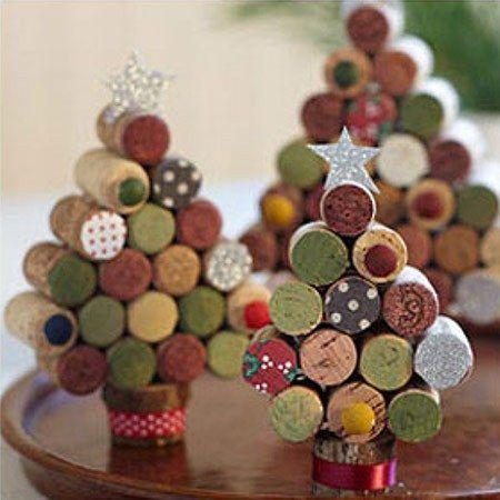 Christbaum aus Korken