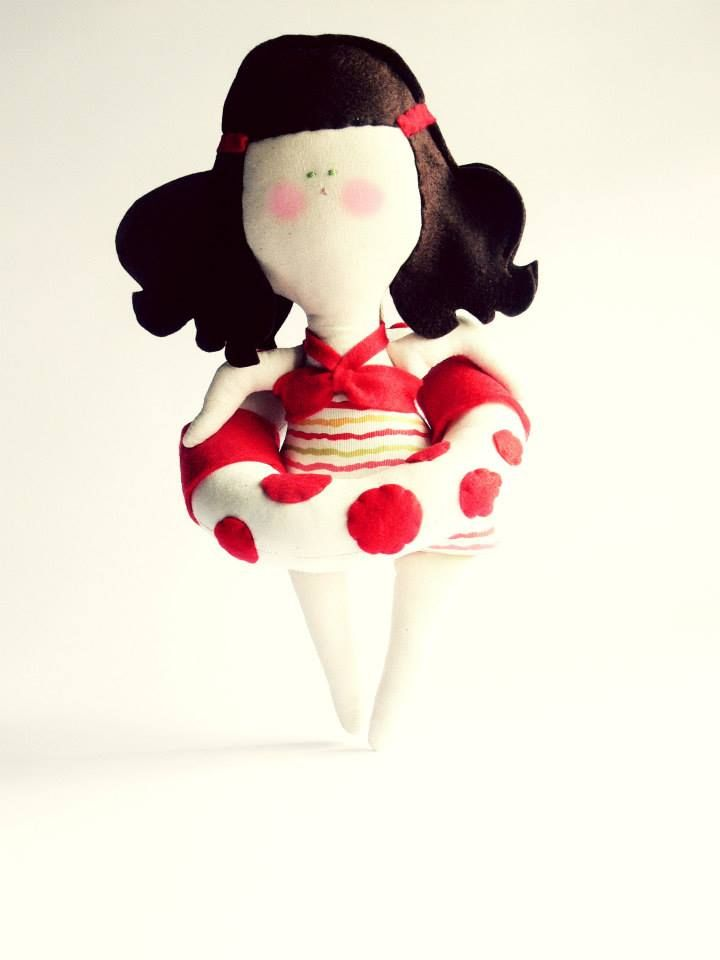 DOLL WITH SWIMSUIT - mobile doll
