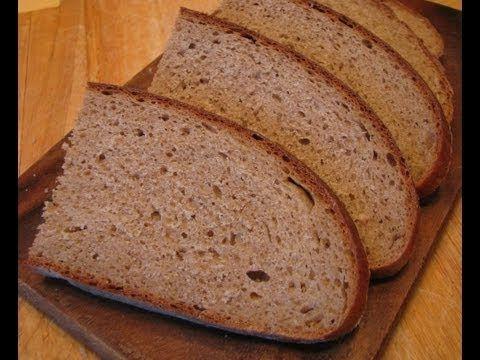 """Черный круглый хлеб """"Столичный""""l"""