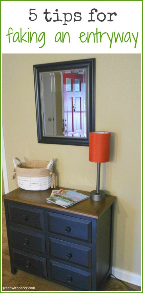 Foyer Storage Quotes : Best creating an entryway ideas on pinterest