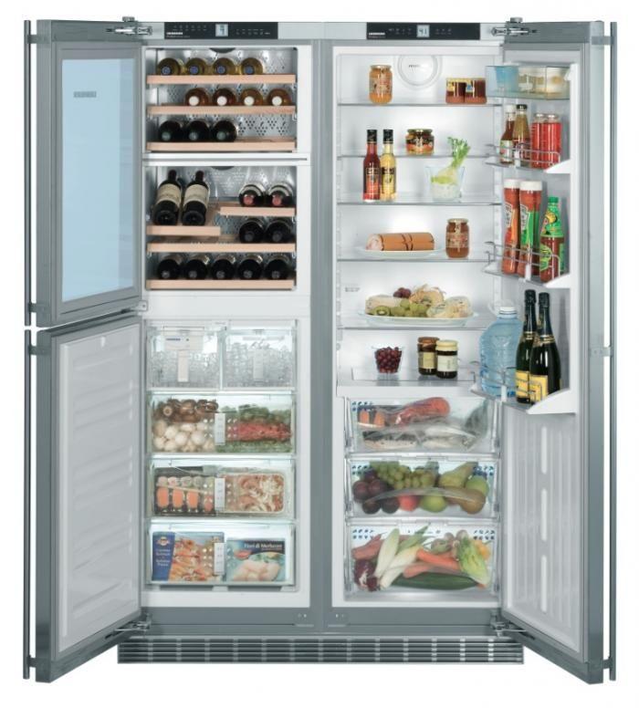 refrigerator 48 wide. keeping it cool: liebherr\u0027s 5-zone refrigerator 48 wide