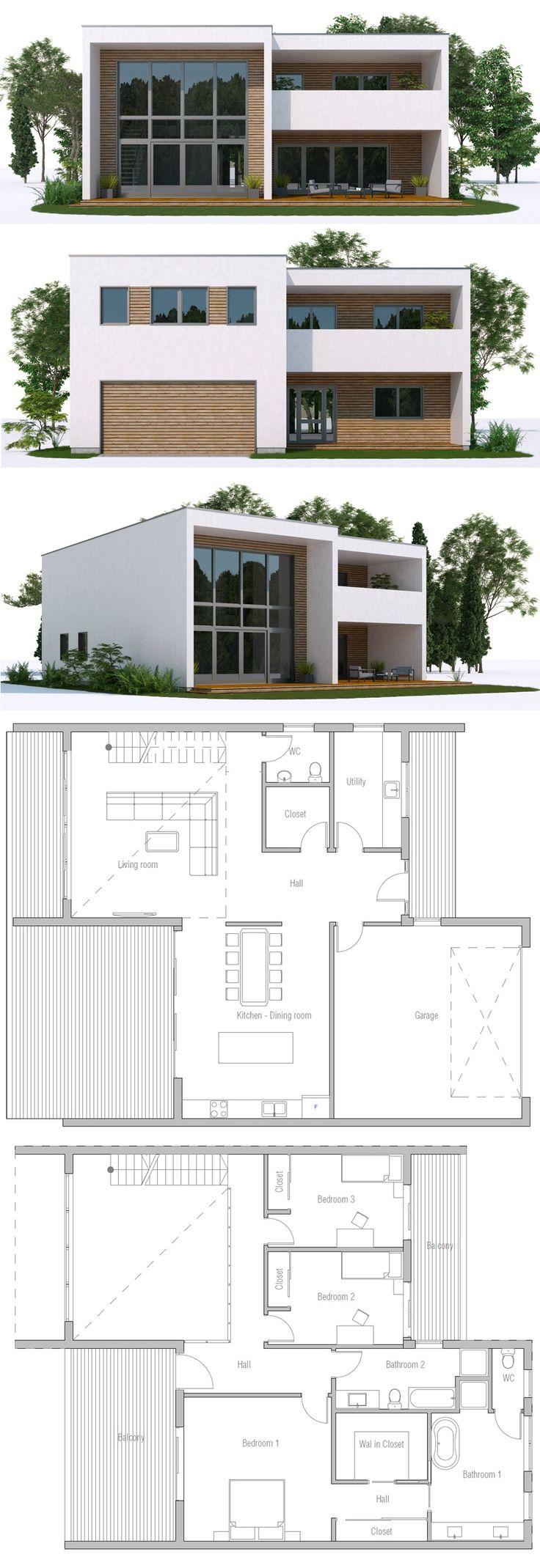 Architektur grundrisse modernen haus pläne moderne häuser grundrisse haus design innenarchitektur architektur innere