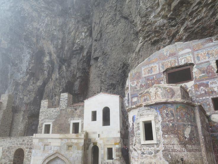 Detail Sumela Monastery Trabzon E Turkey