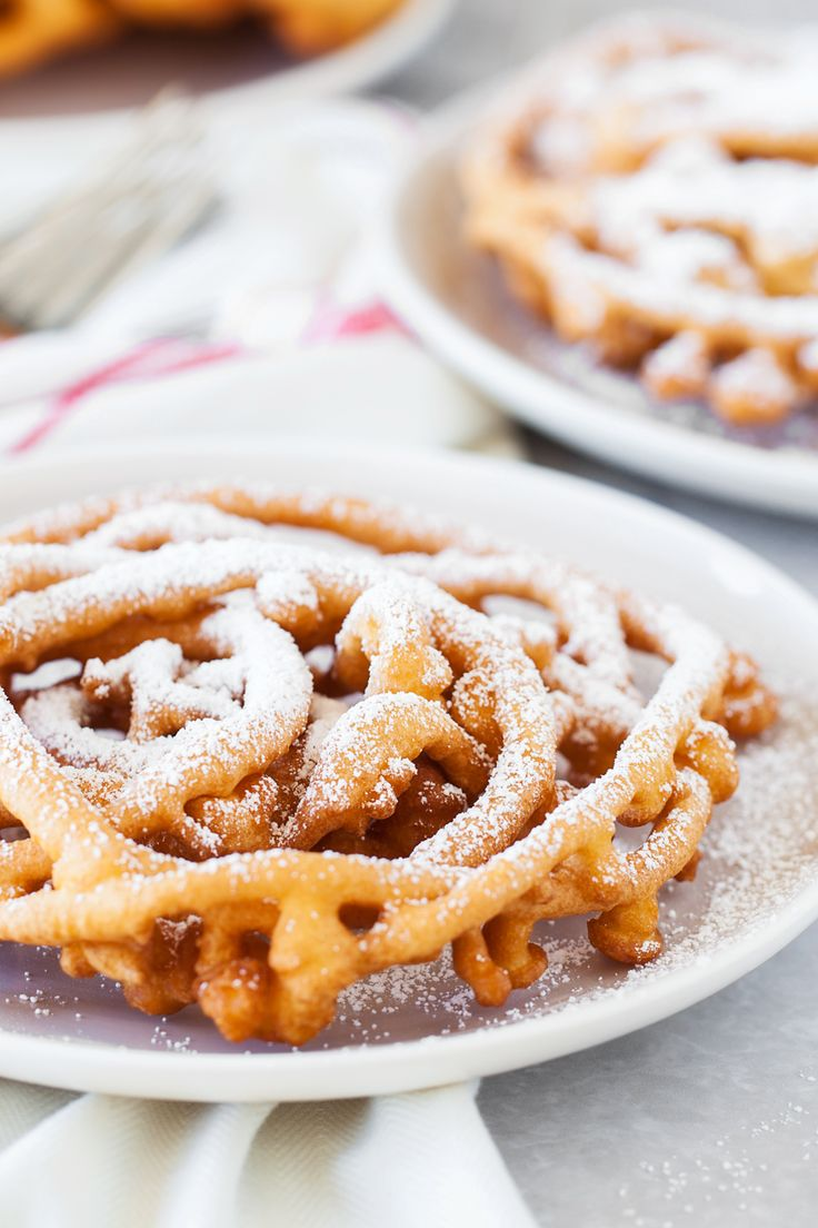 This simple and delicious funnel cake recipe tastes just like the famous county …