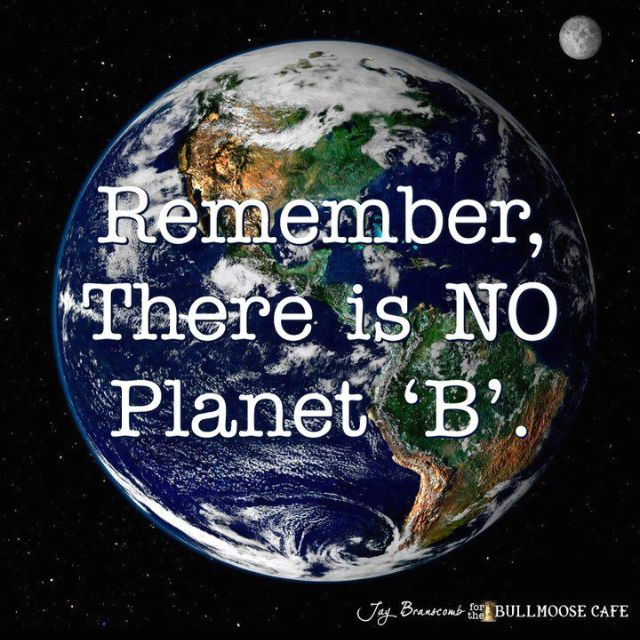 Protect our planet . . . we all need to start NOW . . .