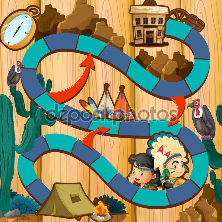 Gra planszowa — Ilustracja stockowa #59251539