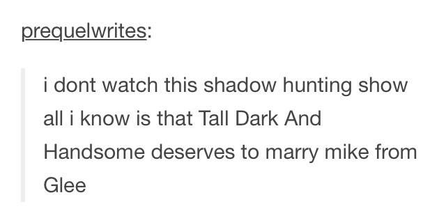 What a non-Shadowhunter fan thinks of the show and Malec