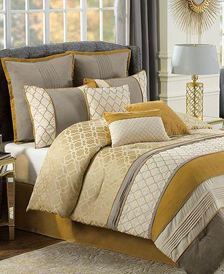 calista 10 piece queen comforter set bed in a bag bed u0026 bath