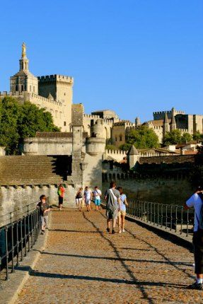 Avignon, France with kids