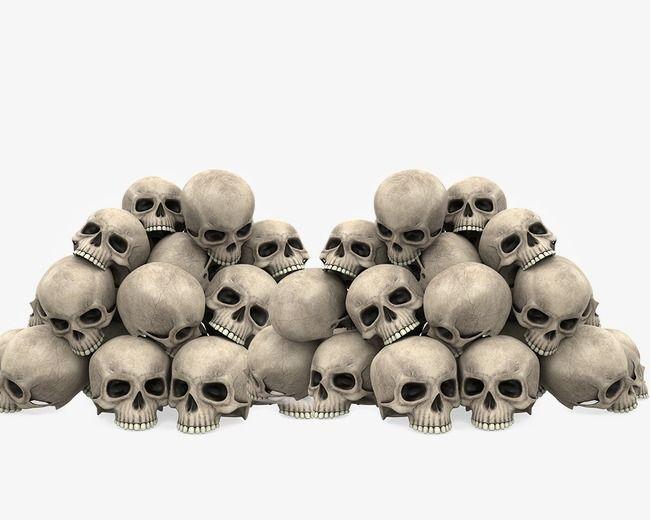 Skull Pile Terror Human Skull Png And Vector With Transparent Background For Free Download Skull Wallpaper Skull Tattoos Human Skull