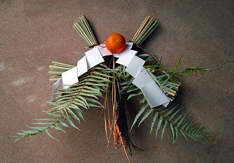 Shinekazari - New Year's decoration in Japan