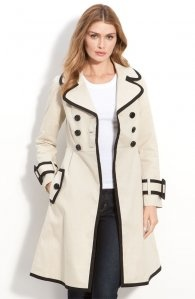 I <3 this jacket!Contrast Trim, Fashion, Style, Lady Trench Coats, Coats By Kate Spade, Trenchcoat, Spade Trench, New York, Winter Coats
