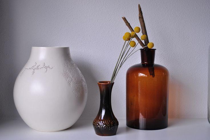 ikea & vintage & vases