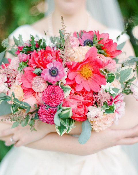 Basically, the bouquet is a big deal!