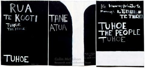 Urewera triptych, 1975 - Colin McCahon