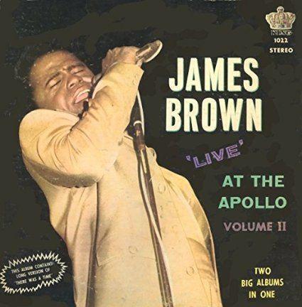 ジェームス・ブラウン Live at the apollp ソウルミュージックの名曲