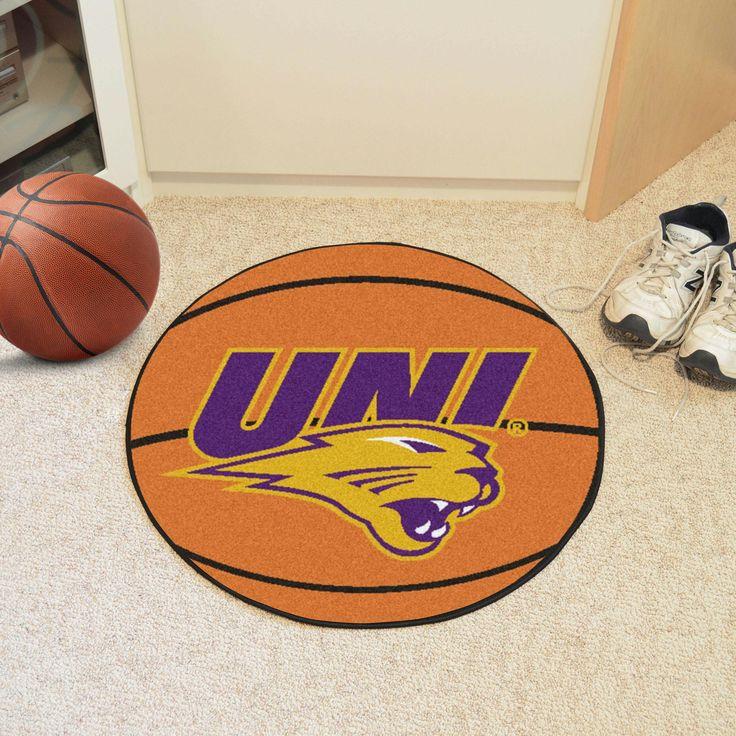 University of Northern Iowa Basketball Mat 27 diameter