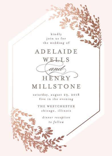 Wildflowers Wedding Invitation by Lehan Veenker #LehanVeenker #LehanVeenkerDesign #Minted #minted.com #wedding