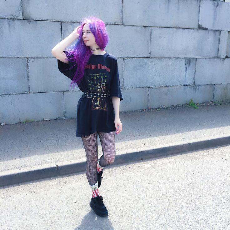 Purple Grunge | Grunge Fashion | Pinterest | Purple Grunge And Blog