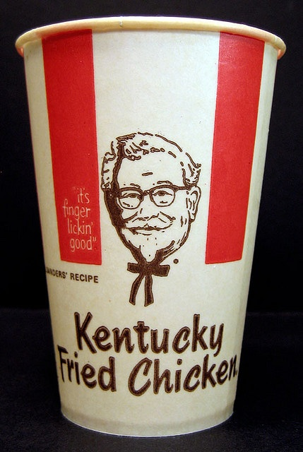 """1970's KFC....before it became just 3 letters (but still just as """"good"""" for you then as it is now ).Please,the ad should have been a warning to all about it's """"nutrition """""""