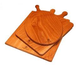 Large Oak Serving Board Set