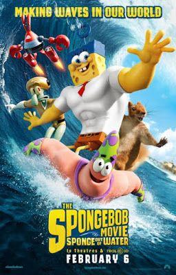 """EL ARTE DEL CINE: ESTRENO EN BLURAY/DVD: """"SpongeBob Sponge Out of Water"""" (2015)"""