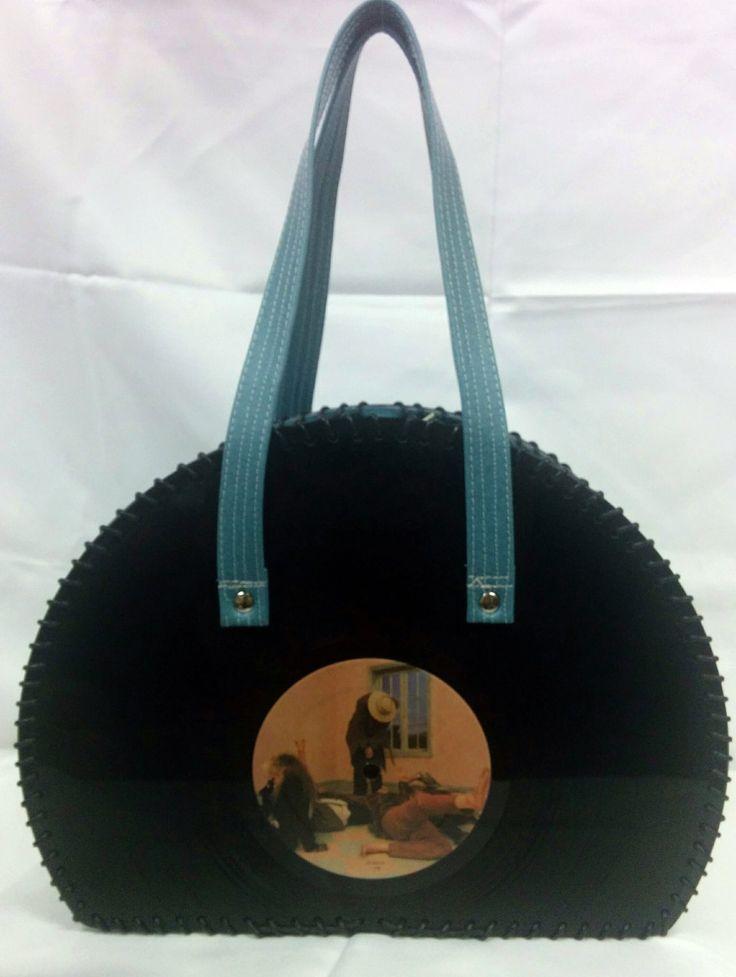 Fleetwood Mac Vinyl Record Handbag by FunkyVinylArt on Etsy