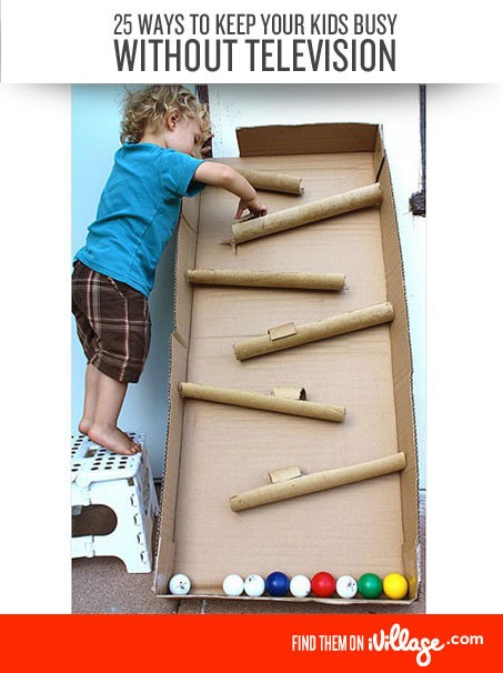 How to keep your kids busy without TV. #parenting #crafts http://www.ivillage.com/tips-keep-kids-busy-without-television/6-b-139597?cid=pin|parenting|busywithouttv|12-17-12