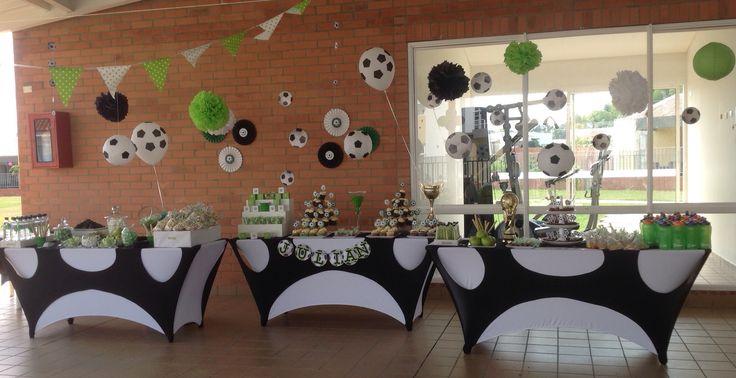 Soccer party  Fiesta de fútbol