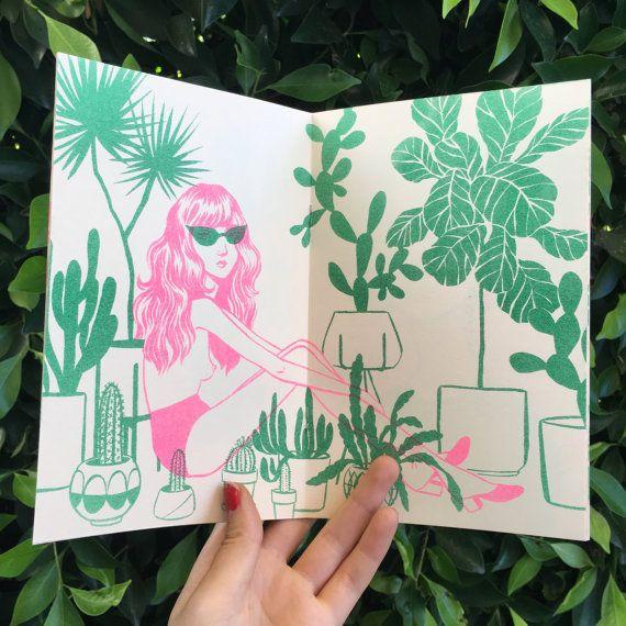 Girls and Plants zine by BijouKarman on Etsy