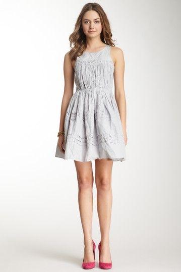 See by Chloe Sleeveless Wrinkle Effect Dress on HauteLook