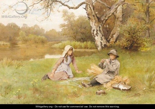 Golden Days  by Charles Edward Wilson