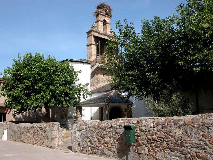 Iglesia parroquial de La Asunción, Fuentesnuevas, León, Camino de Santiago