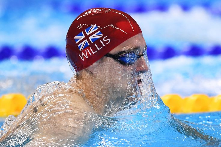 Andrew Willis of Great Britain competes in the Men's 200m Breaststroke heat on Day 4 of the Rio 2016 Olympic Games at the Olympic Aquatics Stadium on August 9, 2016 in Rio de Janeiro, Brazil.