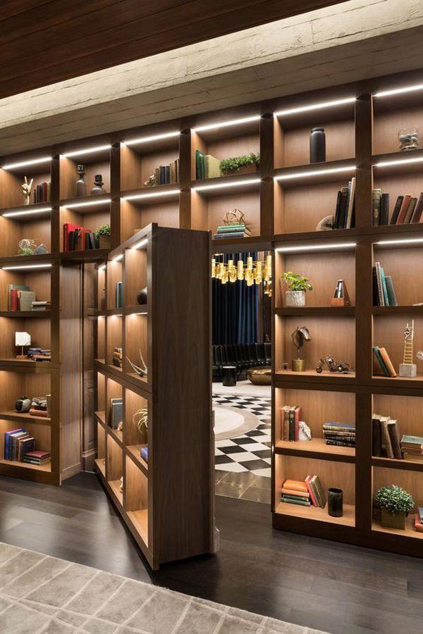 37 Fun And Unique Secret Room Ideas For Your Hideaway Home Design And Interior Modernhomedesigns Rumah Tersembunyi Desain Rumah Ide Dekorasi Rumah