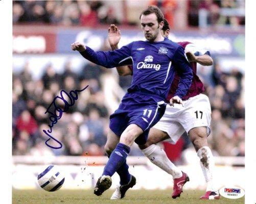 James McFadden Autographed 8x10 Photo Everton PSA/DNA #U54957