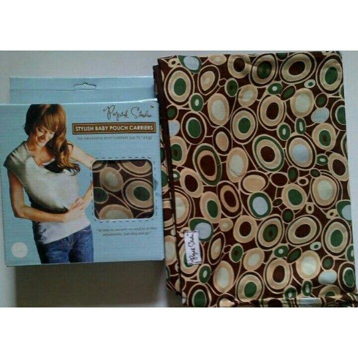 Pupsik studio stylish baby pouch carrier brown 1sr 6pcs x@69