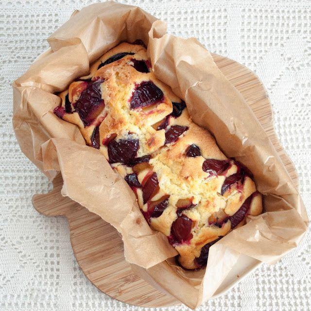 Najprostsze i najlepsze ucierane ciasto (ze śliwkami)