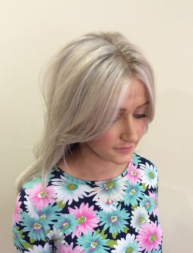 Platinum Blonde Ash Blonde Grey Blonde Toner Highlights