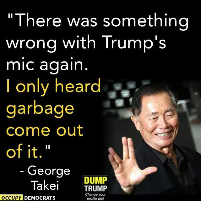 Trump & his microphone