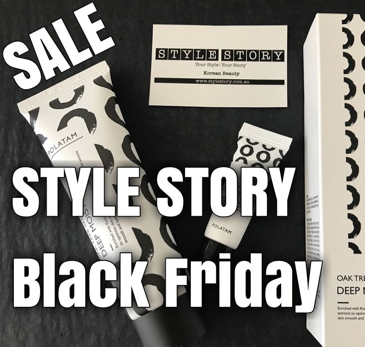 SHOP STYLE STORY's Black Friday Sale - the best of Korean Beauty 🙋🏼